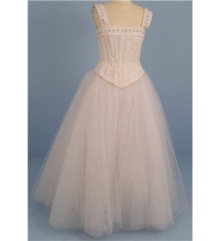 Ritva westenius size s cream white 2 piece wedding for Oxfam wedding dress shop