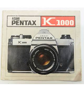 asahi pentax k1000 owners manual oxfam gb oxfam s online shop rh oxfam org uk Pentax 35Mm Owner's Manual Pentax K1000 BatteryType