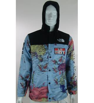 The North Face x Supreme - Size: XL - World Map Print - Zipped ... on