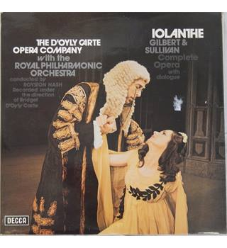 Carte Orchestra.Gilbert Sullivan Iolanthe D Oyly Carte Opera Company Royal