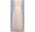 BNWT Augusta Jones Size UK 14 Ivory strapless 2-piece wedding dress