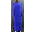 Cameron Blake by Mon Cherie - Size 8 - Blue - Evening Dress