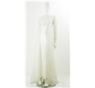 Vintage Circa 1960's Size 8/10 White Wedding Dress
