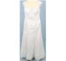 Divine Bridal, Size 12-14 white wedding dress