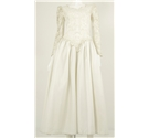 Forever Yours Size 12 Ivory Tulle Embroidered Bodice Wedding Dress