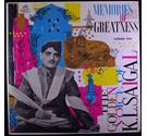 Memories of Greatness Volume 2. K L Saigal - EAHA 1002