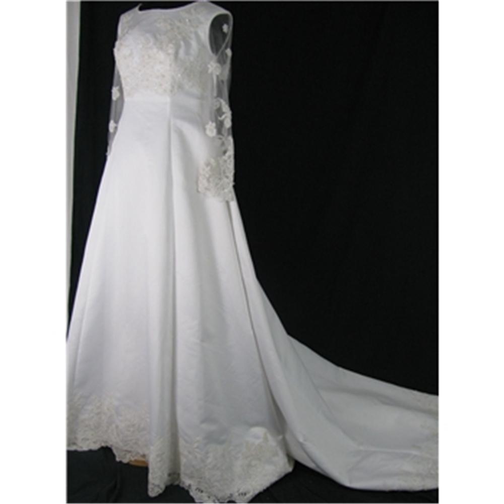 Size s m ivory wedding dress oxfam gb oxfam s online shop for Oxfam wedding dress shop