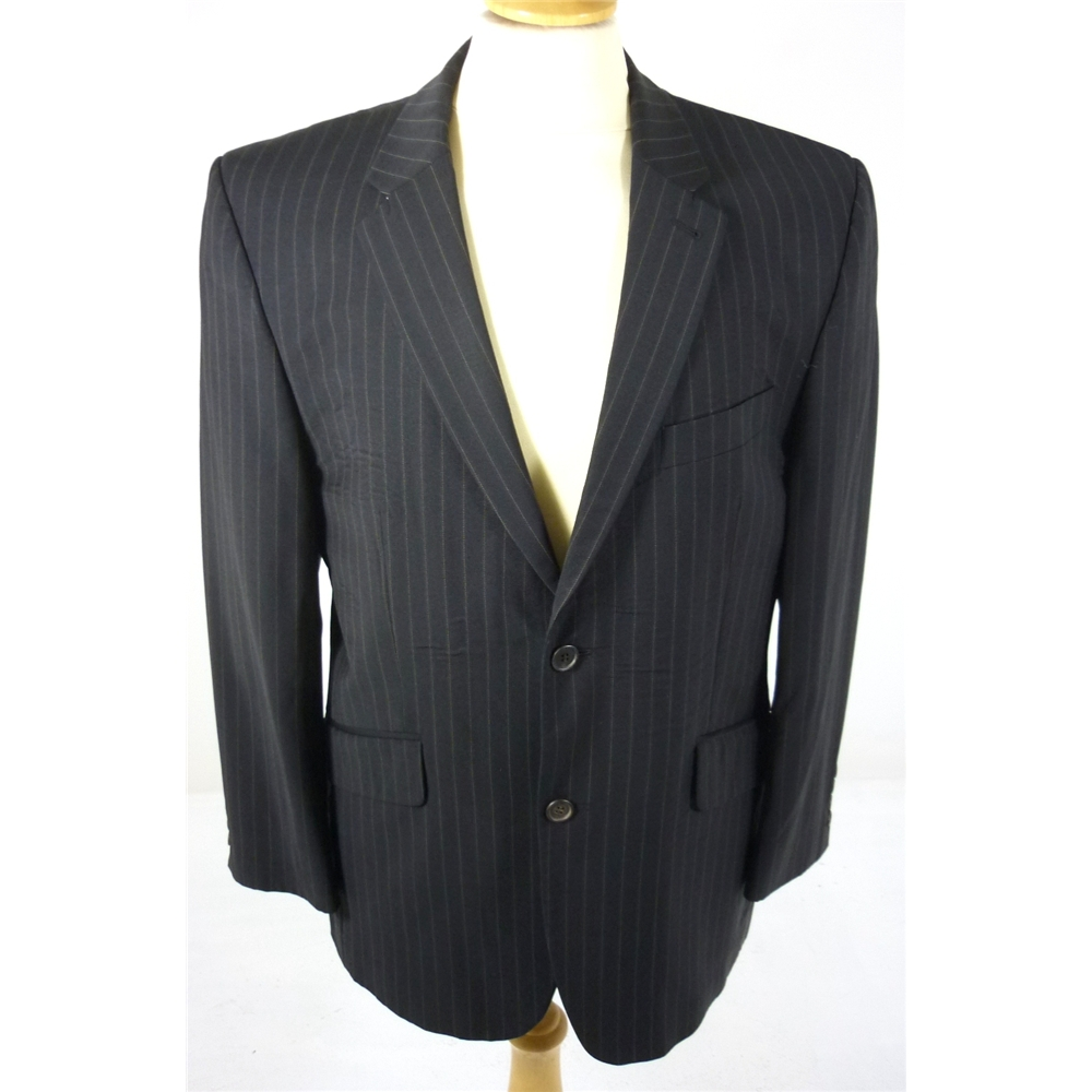 Jasper conran size medium dark brown pinstripe smart for Jasper conran shop