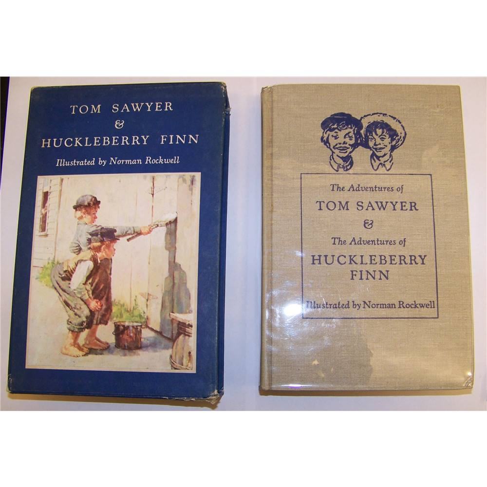 the adventure of tom sawyer and huckleberry finn A) who is he/what does he do in between the chapters b) what is his personality like thank you :d.