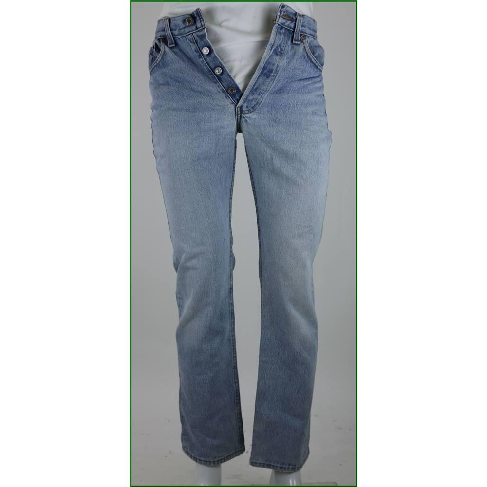 levi strauss 301 size 28 light blue jeans oxfam gb oxfam s online shop. Black Bedroom Furniture Sets. Home Design Ideas