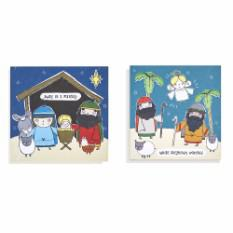 Mini Kids Christmas cards (16 pack)