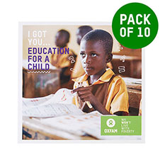 Educate a child - pack of 10