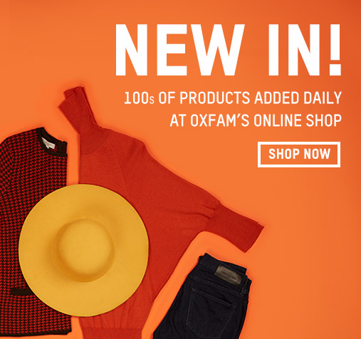 Second-hand clothing | Oxfam Online Shop