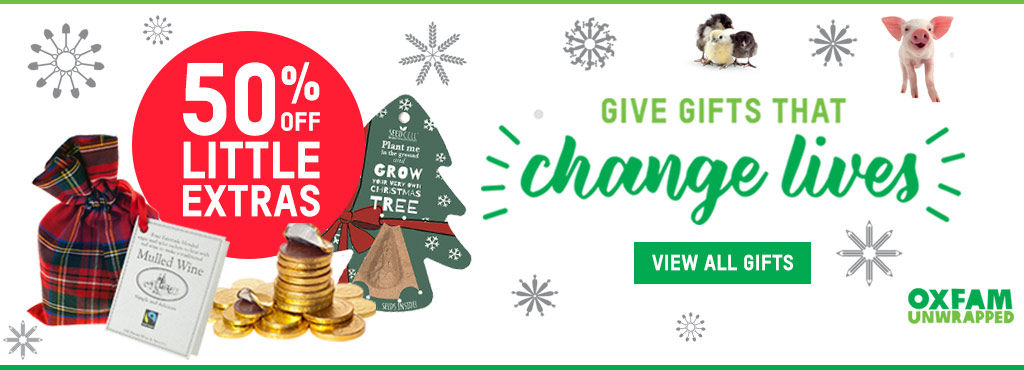 Oxfam Unwrapped Charity Gifts - Oxfam GB