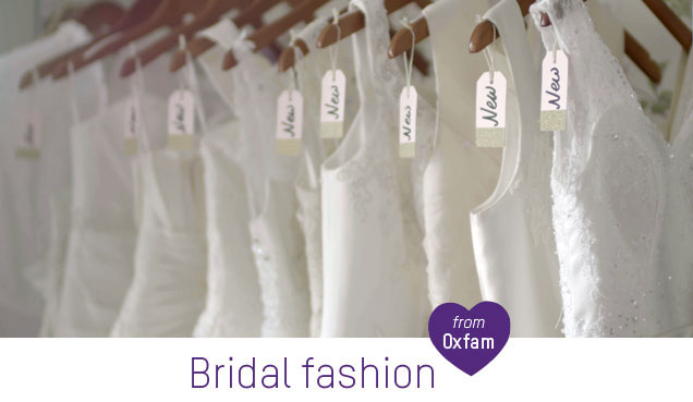 5d5e82faabf The Oxfam Online Shop is the home of beautiful second-hand bridal wear