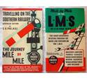 Mile by Mile booklets on the LMS and on the Southern Railway