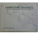 Landscape Graphics Plan Section and Perspective Drawing of Landscape Spaces