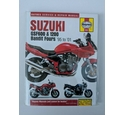 Haynes service and repair manual for Suzuki GSF600 & 1200 & BANDIT FOUR'S