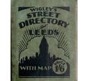 Wigley's Street Directory of Leeds with Map