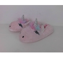 NWOT Marks & Spencer Unicorn Slippers Pink Size: 3