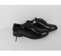 NWOT Marks & Spencer Patent Leather School Shoes Black Size: 2.1/2