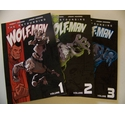 The astounding Wolf-Man, Vols 1, 2 and 3