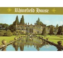 Rhinefield House and postcard