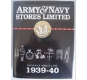 Army & Navy Stores Limited: General Price List 1938-40