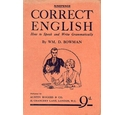 Correct English - how to speak and write grammatically