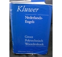Groot Polytechnisch Woordenboek Nederlands - Engels Large Polytechnic Dictionary Dutch - English