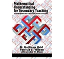 Mathematical understanding for secondary teaching: a framework and classroom-based situations