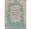 English Furniture Design of the Eighteenth Century