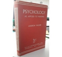 Psychology as Applied to Nursing by Andrew McGhie 1959