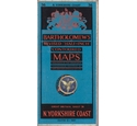 "Vintage Bartholomew's Revised ""Half-Inch"" Contoured Map Sheet 36 N YORKSHIRE COAST"