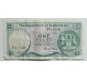 Royal Bank of Scotland £1 note D/7 517320, 1987-2016