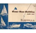 Home Boat Building. . .made easy