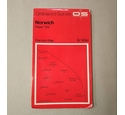 "Free Postage - Ordnance Survey Map - Norwich - 1968 - ""One Inch"" Scale"