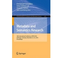 Metadata and semantics research