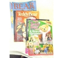 Assorted Teddy Bear magazines- 7 issues