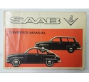 Saab V4 1960s Owner's Manual