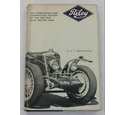 The Production and Competition History of the Pre-1939 Riley Motor Cars - First Edition