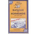 Michelin Map 102 - Battle of Normandy June-August 1944 - Reprint of 1947 map
