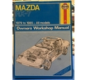 Haynes Mazda RX-7 owners workshop manual. All models 1979-1985