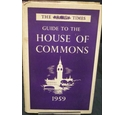 The Times Guide To The House Of Commons 1959