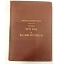 Official Hand-book of Railway Stations. 1938