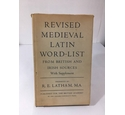 Revised Medieval Latin Word-List