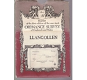 Ordnance Survey Map One Inch- Reprint of Victorian 1st Edition - Sheet 32 Llangollen