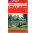 Ordnance Survey Map - Explorer 129 - 2.5 inches to mile - Yeovil & Sherborne, Somerton & Wincanton