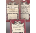 Group of 3 Reprints of the 1st Edition of the Victorian Ordnance Survey Maps of England & Wales