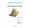 Useful Programs for the Ti-89